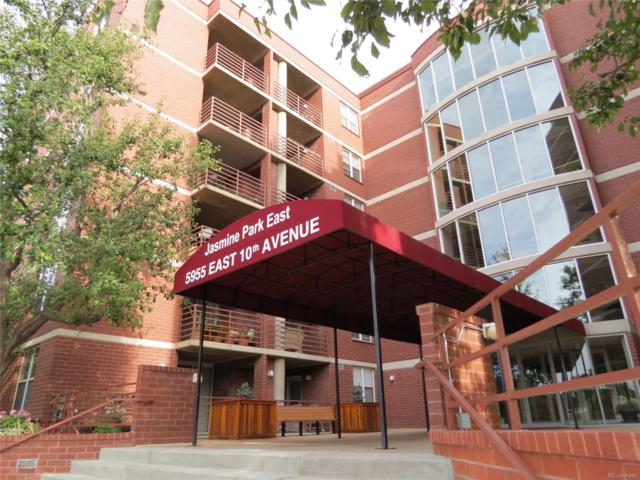 5955 E 10th Avenue #305, Denver, CO 80220 (#3407202) :: The HomeSmiths Team - Keller Williams
