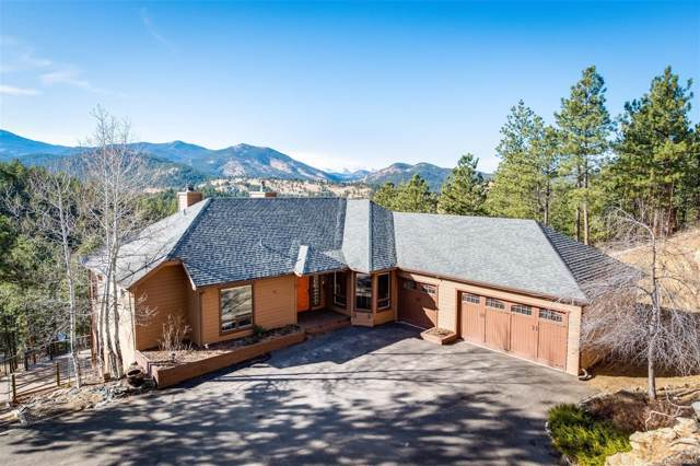 315 Humphrey Drive, Evergreen, CO 80439 (#3407530) :: Berkshire Hathaway Elevated Living Real Estate