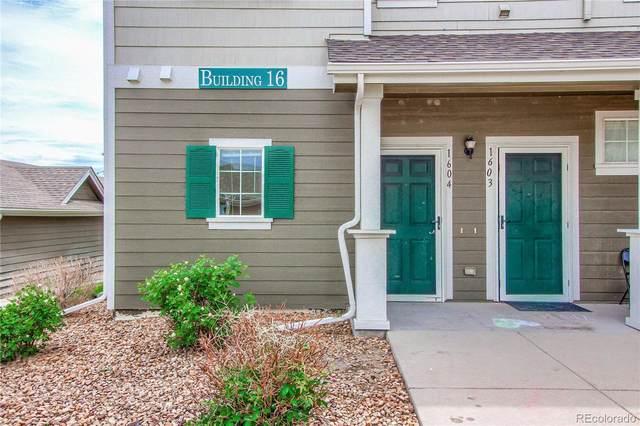 14700 E 104th Avenue #1604, Commerce City, CO 80022 (MLS #3412749) :: 8z Real Estate