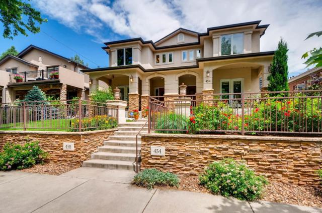 450 S Corona Street, Denver, CO 80209 (#3412904) :: The City and Mountains Group
