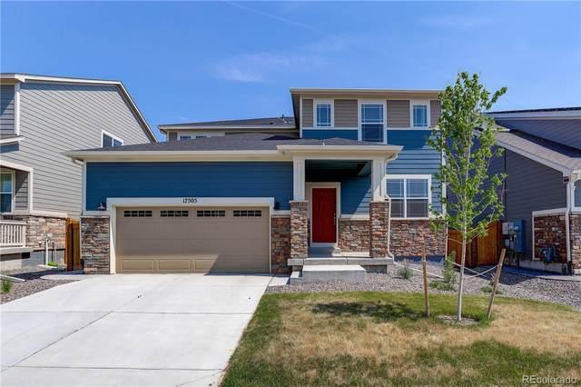 17505 Springfield Drive, Parker, CO 80134 (MLS #3414379) :: 8z Real Estate
