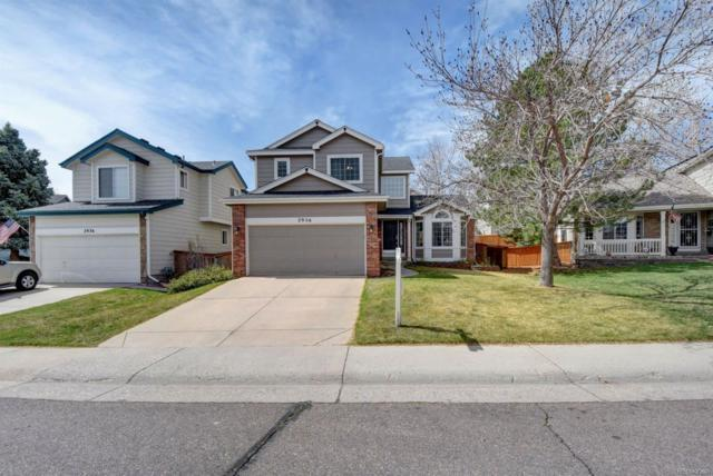 2956 Deer Creek Place, Highlands Ranch, CO 80129 (#3415062) :: The Pete Cook Home Group