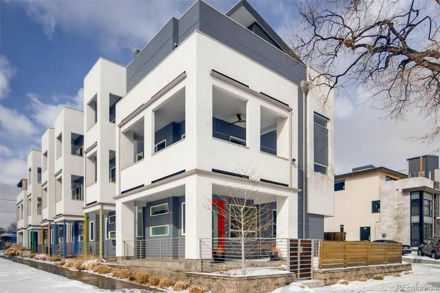 1707 Irving Street, Denver, CO 80204 (#3417334) :: The Griffith Home Team