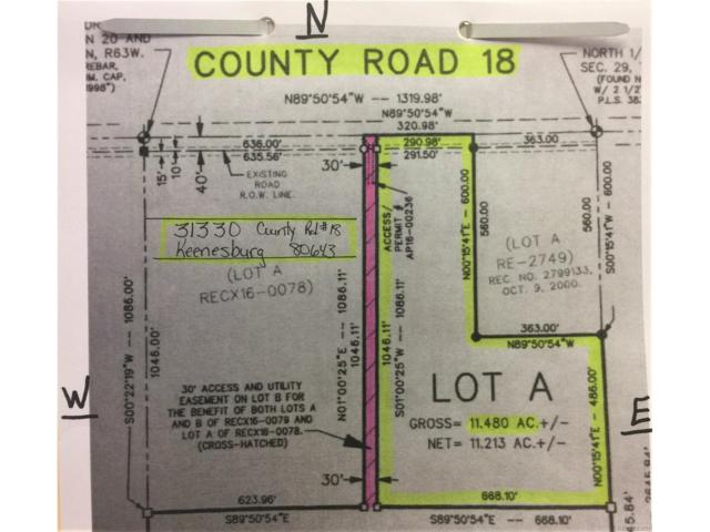 County Road #18, Keenesburg, CO 80643 (MLS #3417870) :: 8z Real Estate