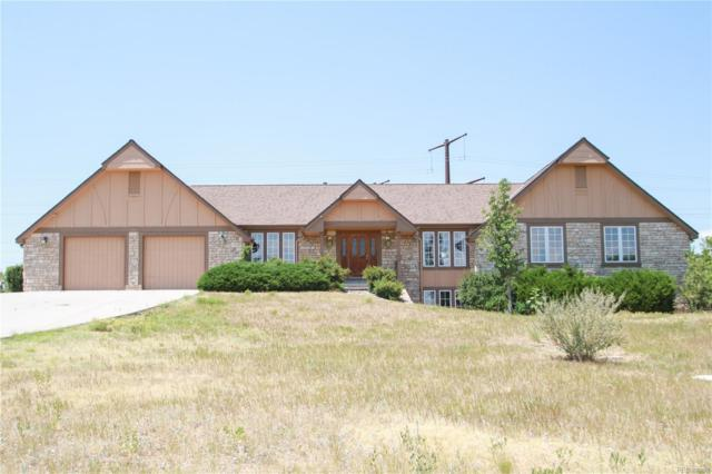 8187 N Pinewood Drive, Castle Rock, CO 80108 (#3420317) :: The Griffith Home Team