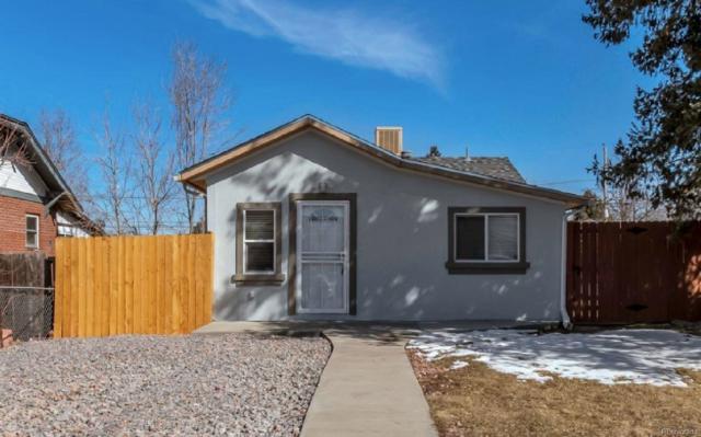 256 S Newton Street, Denver, CO 80219 (MLS #3420986) :: 8z Real Estate