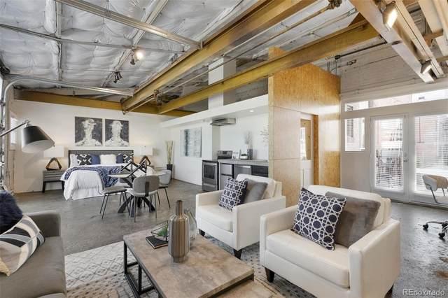 3317 Blake Street #103, Denver, CO 80205 (#3421672) :: Wisdom Real Estate