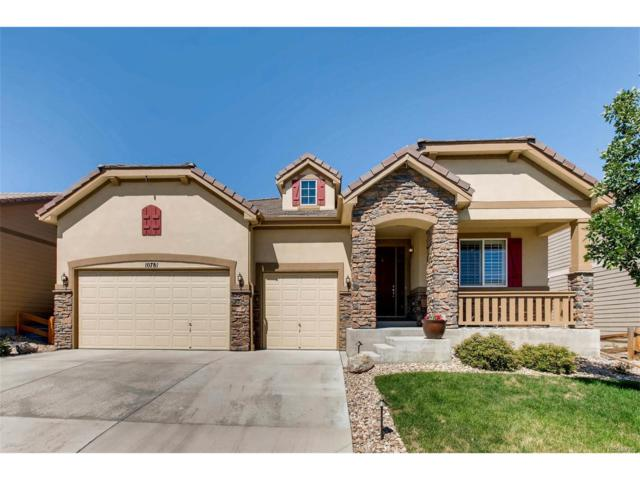 10781 Hillrose Street, Parker, CO 80134 (MLS #3430076) :: 8z Real Estate
