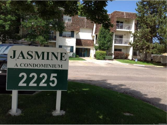 2225 S Jasmine Street 105B, Denver, CO 80222 (#3431040) :: The Peak Properties Group