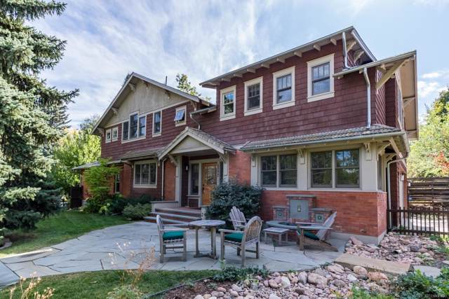 1590 Cascade Avenue, Boulder, CO 80302 (MLS #3432790) :: The Galvis Group