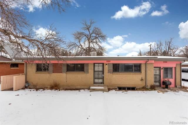 3124 Racine Street, Aurora, CO 80011 (#3435507) :: iHomes Colorado