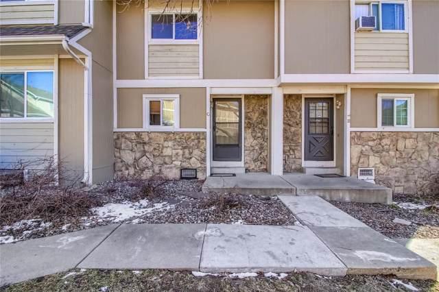 2241 Coronado Parkway C, Denver, CO 80229 (MLS #3435796) :: 8z Real Estate