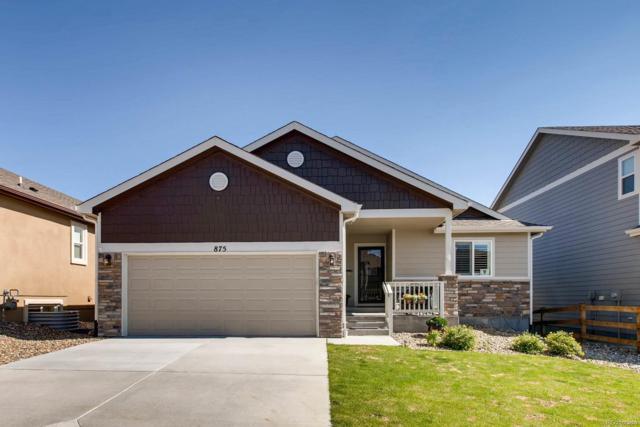 875 Pistol River Way, Colorado Springs, CO 80921 (#3437310) :: Bring Home Denver