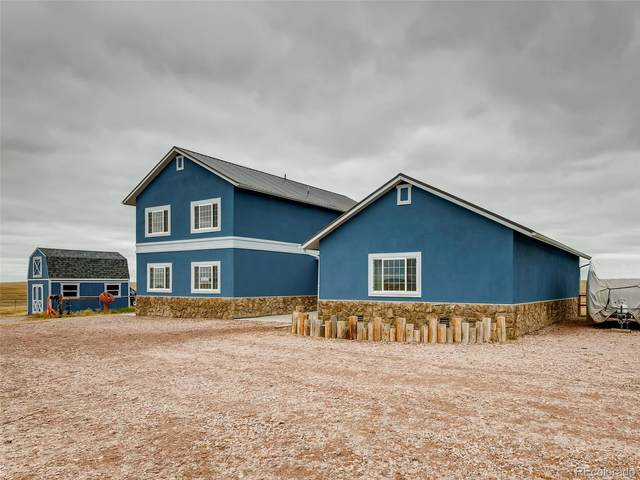 25550 Shorthorn Circle, Kiowa, CO 80832 (MLS #3438544) :: 8z Real Estate