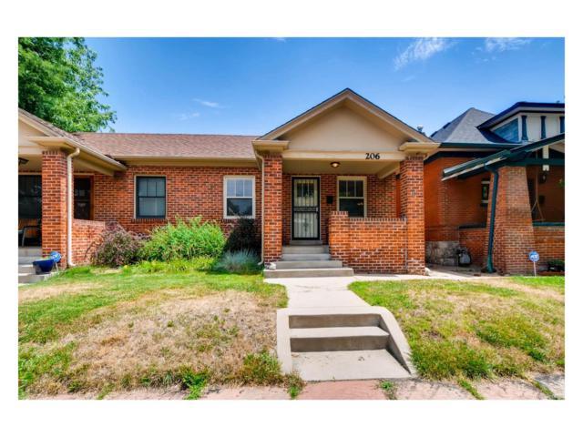 206 S Emerson Street, Denver, CO 80209 (MLS #3439853) :: 8z Real Estate