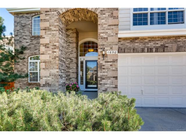 1650 Peridot Lane, Castle Rock, CO 80108 (#3441171) :: The Griffith Home Team