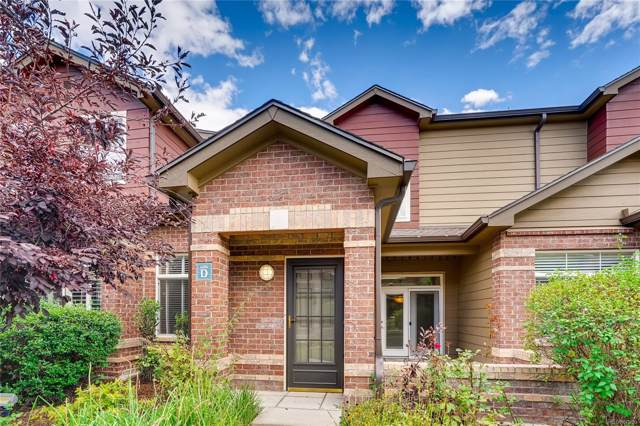 6506 Silver Mesa Drive D, Highlands Ranch, CO 80130 (#3443398) :: 5281 Exclusive Homes Realty