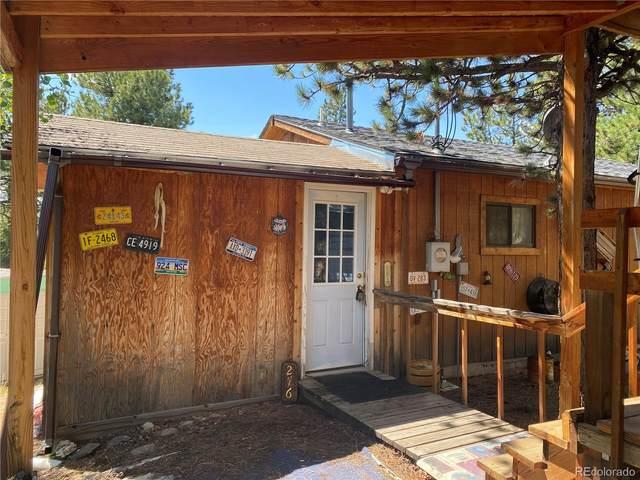 276 Blackhawk Creek Drive, Florissant, CO 80816 (#3443490) :: The DeGrood Team
