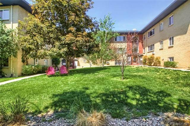 655 N Washington Street 4B, Denver, CO 80203 (#3444141) :: The Griffith Home Team