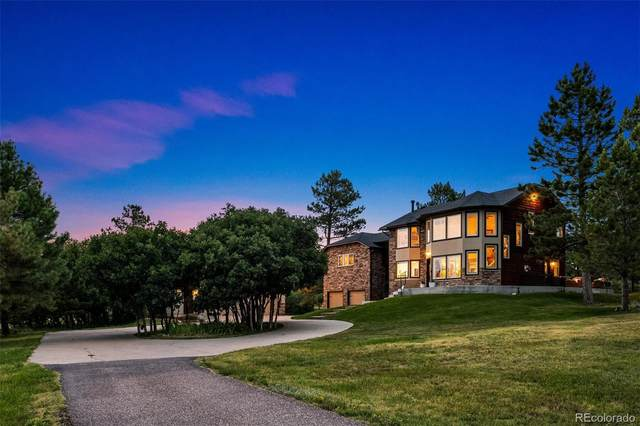 9817 Pine Valley Drive, Franktown, CO 80116 (#3447854) :: Finch & Gable Real Estate Co.