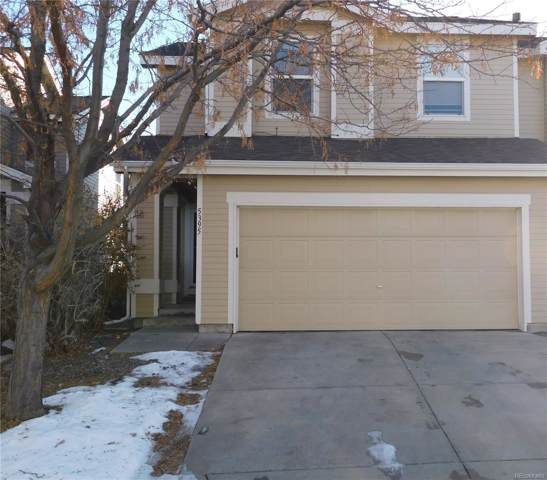 5395 S Picadilly Court, Aurora, CO 80015 (#3449806) :: The DeGrood Team