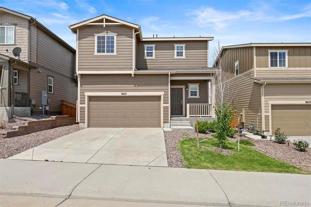 3617 Evening Place, Castle Rock, CO 80109 (#3450627) :: The Margolis Team