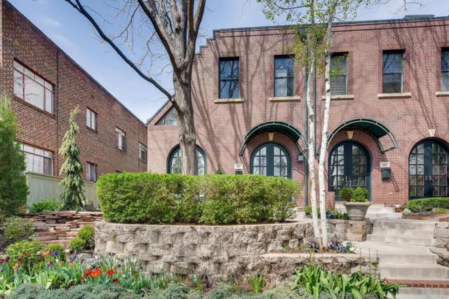 507 Garfield Street, Denver, CO 80206 (#3452213) :: The Peak Properties Group
