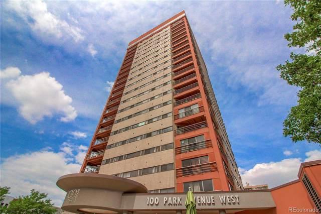 100 Park Avenue W #1605, Denver, CO 80205 (MLS #3452274) :: Stephanie Kolesar