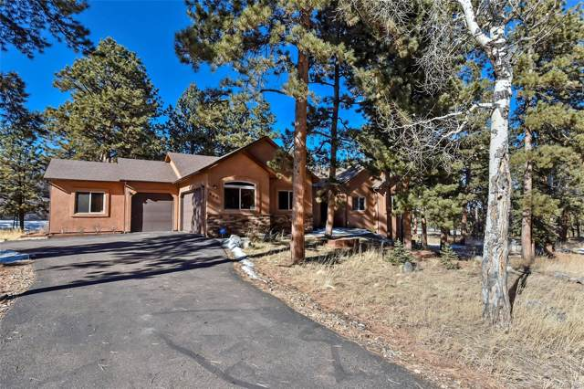 200 Wildrose Court, Woodland Park, CO 80863 (#3452880) :: The Peak Properties Group