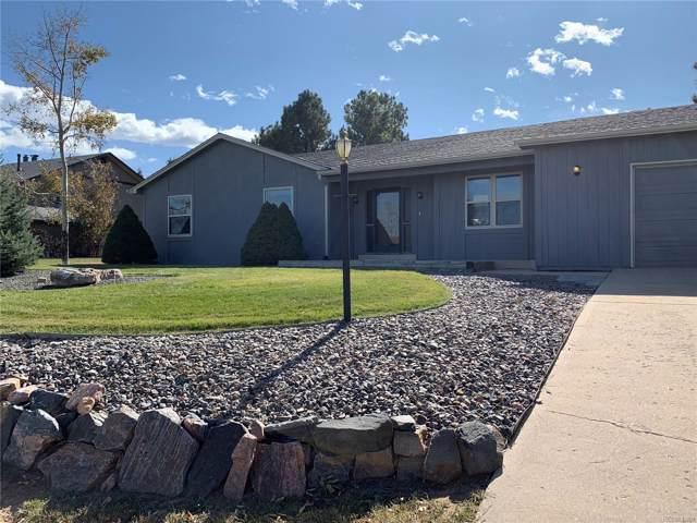 6201 Ponderosa Way, Parker, CO 80134 (MLS #3460894) :: 8z Real Estate