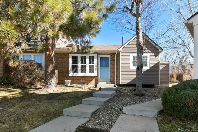 4606 S Dillon Court F, Aurora, CO 80015 (MLS #3465665) :: 8z Real Estate