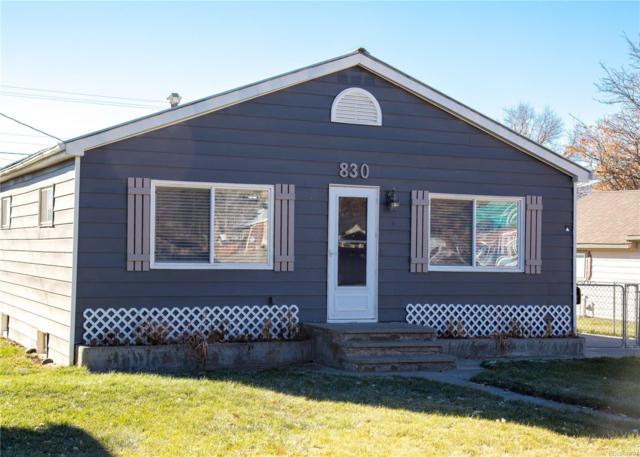 830 Main Street, Meeker, CO 81641 (#3469620) :: The HomeSmiths Team - Keller Williams