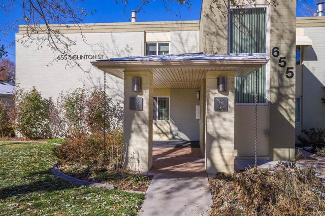 655 S Clinton Street 10B, Denver, CO 80247 (#3470350) :: Wisdom Real Estate