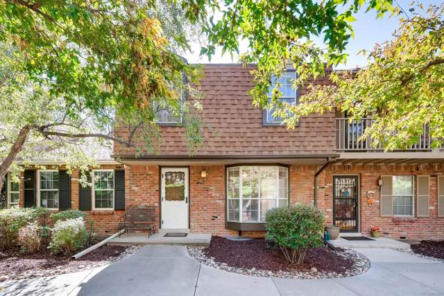 7101 W Yale Avenue #302, Denver, CO 80227 (MLS #3472916) :: 8z Real Estate