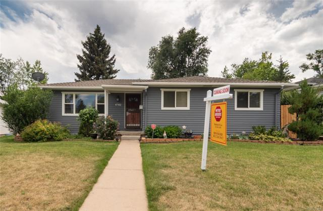 4702 E Arkansas Avenue, Denver, CO 80222 (MLS #3477408) :: 8z Real Estate