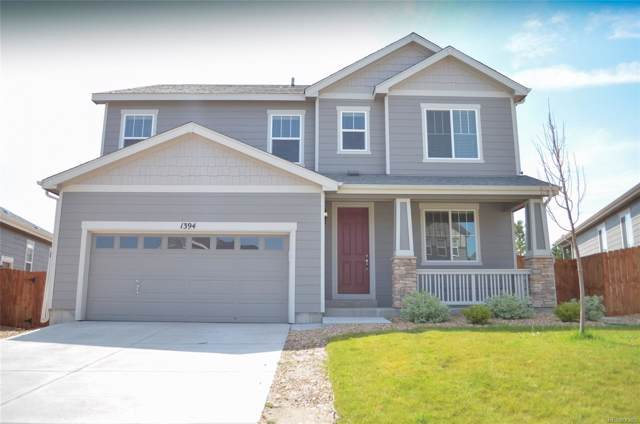1394 Castle Creek Circle, Castle Rock, CO 80104 (#3477977) :: The Galo Garrido Group