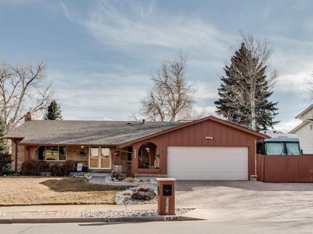 8380 W Baker Avenue, Lakewood, CO 80227 (#3482488) :: The Peak Properties Group