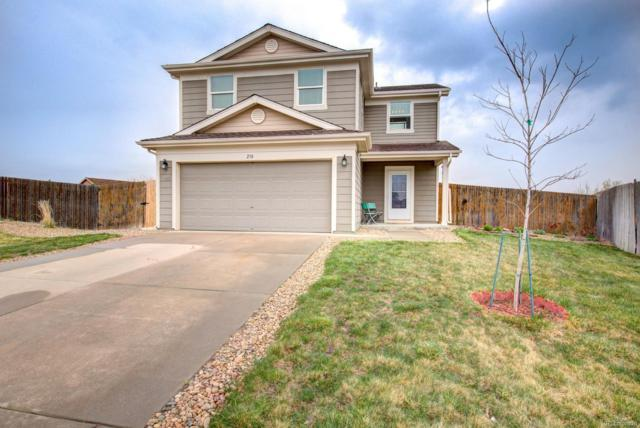 210 Stagecoach Lane, Lochbuie, CO 80603 (#3483703) :: The Galo Garrido Group