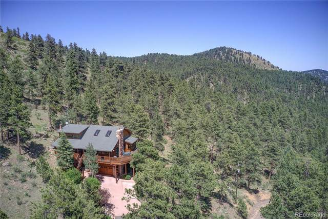3930 S Skyline Drive, Evergreen, CO 80439 (#3492924) :: The Harling Team @ Homesmart Realty Group