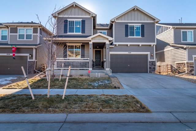 17618 E 111th Place, Commerce City, CO 80022 (#3496371) :: The HomeSmiths Team - Keller Williams