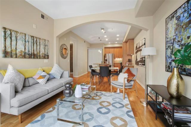 1100 N Grant Street #406, Denver, CO 80203 (#3500695) :: The Peak Properties Group