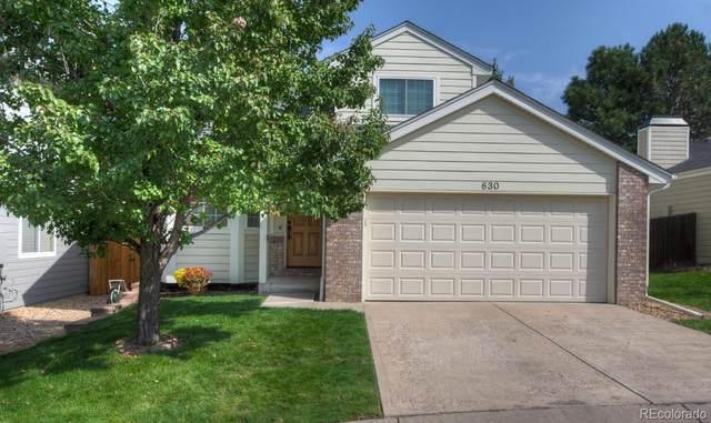 630 W Jamison Circle, Littleton, CO 80120 (#3501662) :: Venterra Real Estate LLC