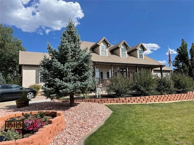 15115 Jessie Drive, Colorado Springs, CO 80921 (#3503006) :: iHomes Colorado