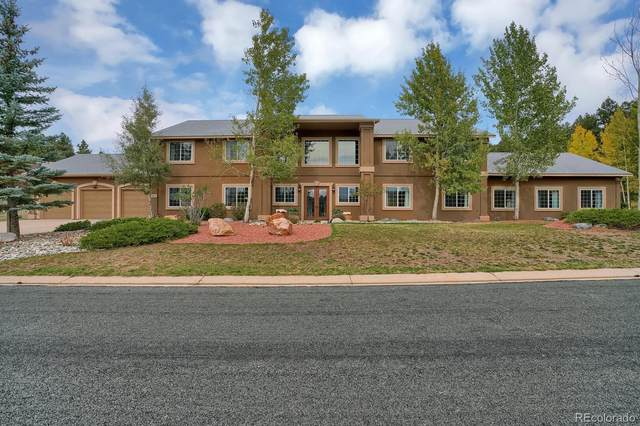 920 Heather Court, Woodland Park, CO 80863 (#3504124) :: HomeSmart