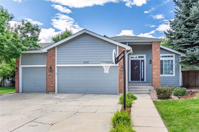 4416 Meyers Court, Castle Rock, CO 80104 (#3505263) :: The DeGrood Team