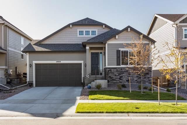 10929 Endeavor Drive, Parker, CO 80134 (MLS #3505336) :: 8z Real Estate