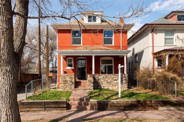 2125 E 21st Avenue, Denver, CO 80205 (#3505631) :: The Brokerage Group