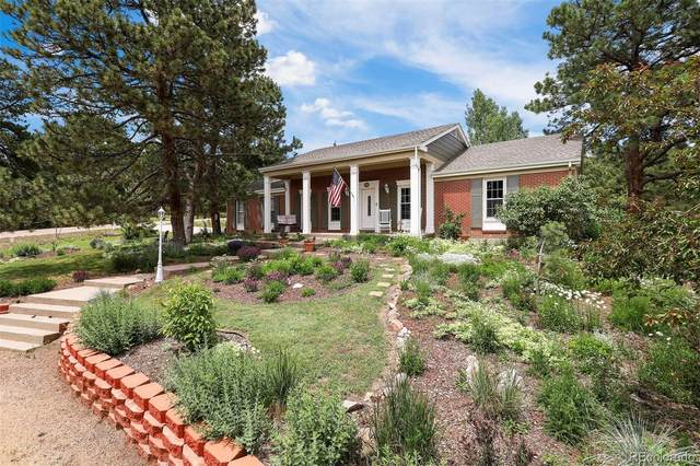1380 Woodmoor Drive, Monument, CO 80132 (#3505981) :: The DeGrood Team
