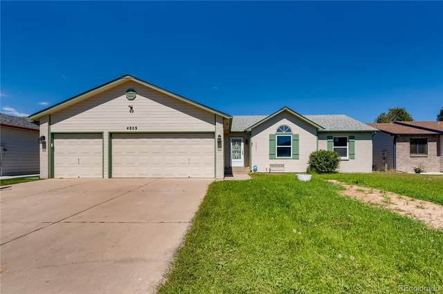 4809 W 1st Street, Greeley, CO 80634 (#3507949) :: The DeGrood Team