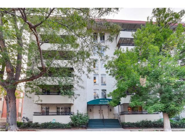1365 Columbine Street #402, Denver, CO 80206 (#3508462) :: Wisdom Real Estate